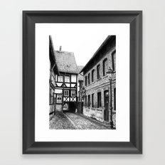 Hometown Framed Art Print