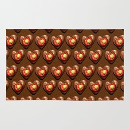 Say It With Chocolate #2 Rug