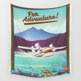 For Adventure! Wall Tapestry