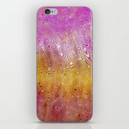 Pink Wave iPhone Skin