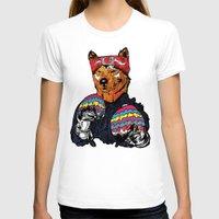 shiba T-shirts featuring Shiba - The Hustler  by Vasco Vicente