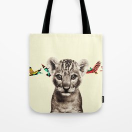 flighty cub Tote Bag