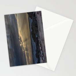 Sunset and God beams Stationery Cards