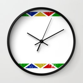 I Am Black History Month design Black Pride Wall Clock