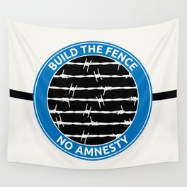 Build The Fence Wall Tapestry