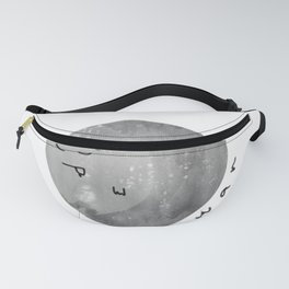 Sleepy Moon Fanny Pack