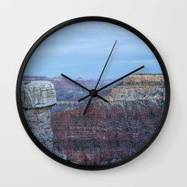 Early Evening at Grand Canyon No. 2 Wall Clock