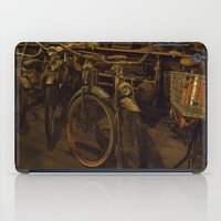 bicycles iPad Cases featuring Bicycles by Gurevich Fine Art