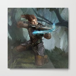 Power shot Metal Print
