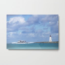 Bahamas Cruise Series 142 Metal Print