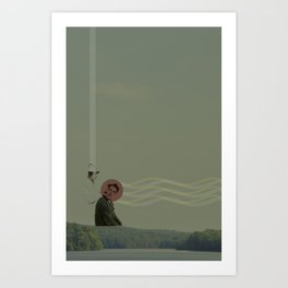 If You Want To be like The Folks on the Hill Art Print