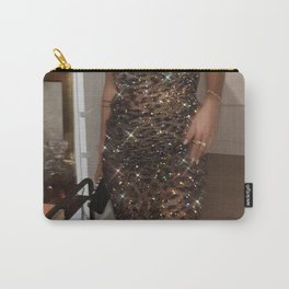 Leopard dress Carry-All Pouch