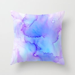 Abstract Alcohol ink Throw Pillow