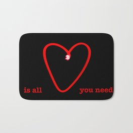 Love Is All You Need II Bath Mat