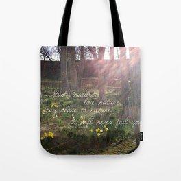 Love Nature Tote Bag