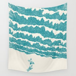 To the sea Wall Tapestry
