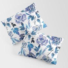 Royal Blue Garden 02 Pillow Sham