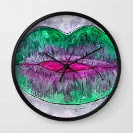 Lipsick Wall Clock