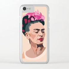 Frida Kahlo - Artist Series Clear iPhone Case