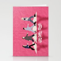 neil young Stationery Cards featuring The Young Ones by dodadue89