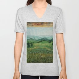 natural room Unisex V-Neck