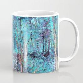 Van Gogh Trees & Underwood Turquoise & Amethyst Coffee Mug