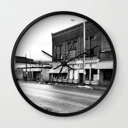 Ohio Ghost Town... Wall Clock