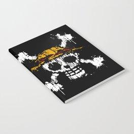 Skull - Pirates Notebook