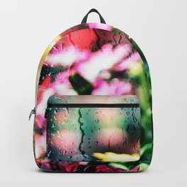Flower and glass Backpack