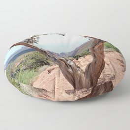Arizona Horizon - Sedona Red Rocks Floor Pillow