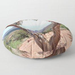 Arizona Horizon - Sedona Red Rocks Floor Pillow