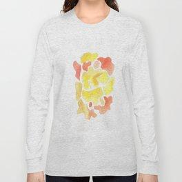 171115 Colour Shape 1 |abstract shapes art design |abstract shapes art design colour Long Sleeve T-shirt