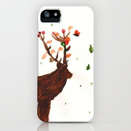 Wisdom of the Horned God iPhone Case