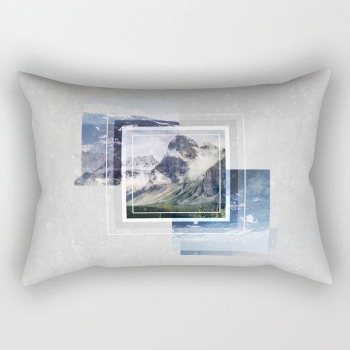 Inspiring mountain Rectangular Pillow