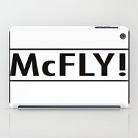 marty mcfly iPad Cases featuring McFly by Pineapple Lanai