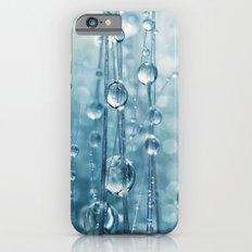 Blue Grass drops II iPhone 6s Slim Case