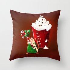 Christmas Rat 2014 Throw Pillow