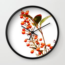 A Fruitful Life Wall Clock