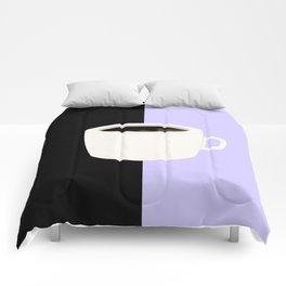Lilac Coffee Comforters