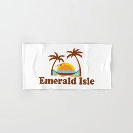 Emerald Isle - North Carolina. Hand & Bath Towel