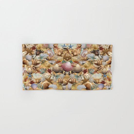 Sea Shell Mania Hand & Bath Towel