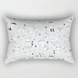 Origami cats Rectangular Pillow