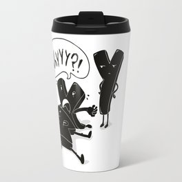 whyyy?! Travel Mug
