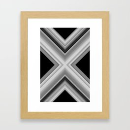 Planetary Displacement Framed Art Print
