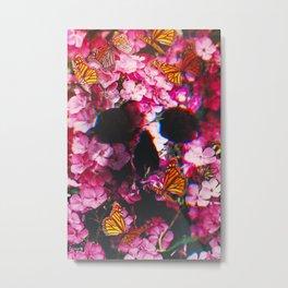 Pinkish Flowers  Metal Print