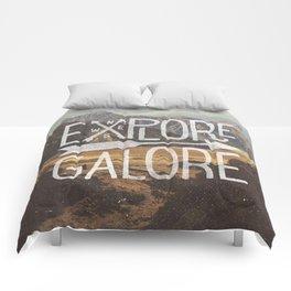 EXPLORE GALORE Comforters