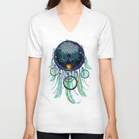 dreamcatcher V-neck T-shirts featuring DreamCatcher by Oleksiy Zaitsev