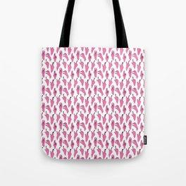 piggy pink swipers on www.white Tote Bag