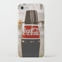 coke iPhone & iPod Cases featuring Roadside coke by Vorona Photography