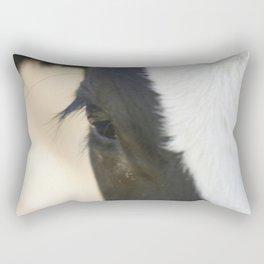 Cow eyes PHOTOGRAPHY Rectangular Pillow